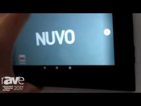 ISE 2017: Nuvo Talks About P30 On Wall Android Touch Screen