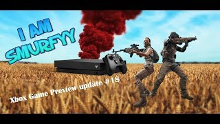 PUBG XBOX PREVIEW UPDATE #18! - XBOX GAMEPASS GIVEAWAY AT 150 SUBS!!
