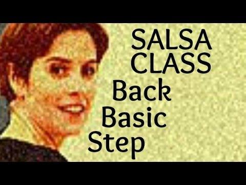 Podstawowe kroki taneczne Salsa: Back Step
