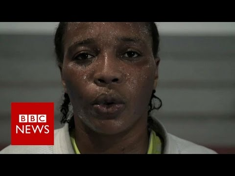 Team Refugee: The refugee judoka competing in the Olympics - BBC News