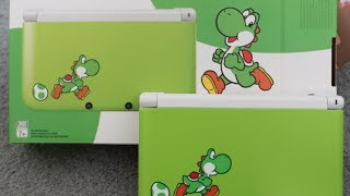 Limited Edition Yoshi 3DS XL Unboxing!