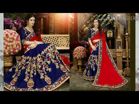 AMAZON DESIGNER WEDDING SAREE REVIEW AND UNBOXING|ONLINE SAREE  SHOPPING|INDIAN SAREE