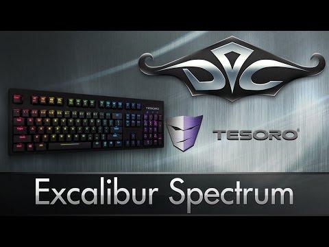 TESORO Excalibur Spectrum. Всеми цветами радуги.