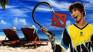 DENDI IS BACK TO PLAYING DOTA AFTER LONG VACATION BREAK