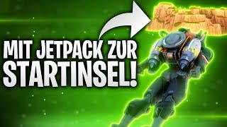 MIT JETPACK ZUR STARTINSEL! 🌏 | Fortnite: Battle Royale