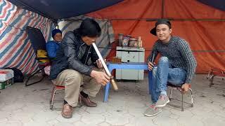 Bất ngờ cô bán trà đá khao không lấy Tiền vì hát như đấm vào tai - hài ca nhạc Nguyễn Vịnh