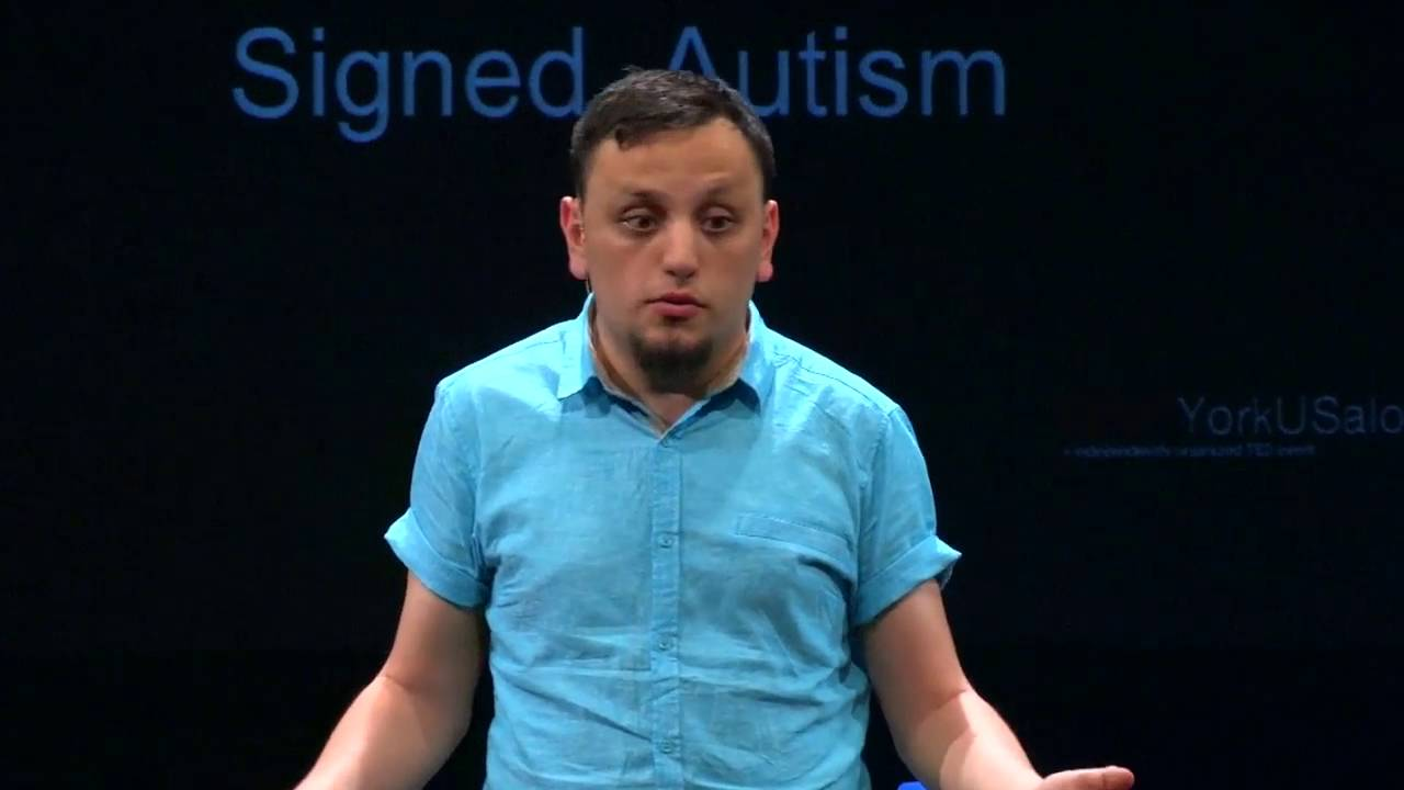 Dear Society… Signed, Autism | Daniel Share-Strom | TEDxYorkUSalon