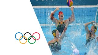 Water Polo Women's Semi-Final USA v AUS - Full Replay | London 2012 Olympics