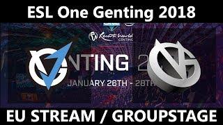 [🔴 DOTA 2 LIVE] Vici Gaming vs VGJ - ESL One Genting 2018