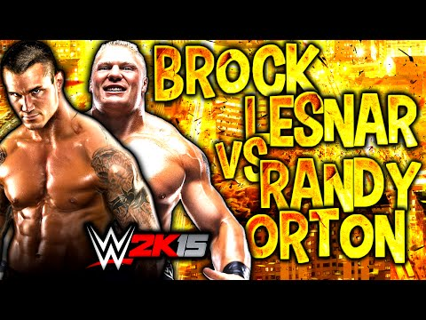 WWE 2K15 | Brock Lesnar Vs Randy Orton