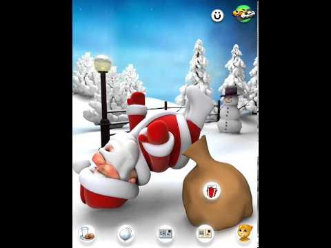Говорящий Санта! Talking Santa 5! Дед Мороз! Санта Клаус! Издеваемся над Сантой!