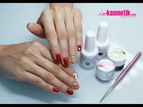 Дизайн ногтей в технике