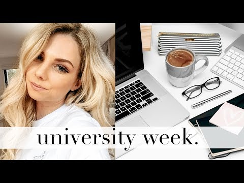 A Week In My Life At University! Fashion School