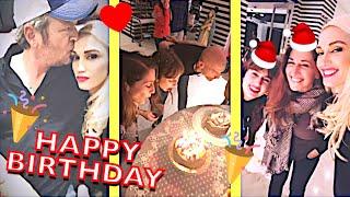 Gwen Stefani Blake Shelton Celebrating Gwen 39 S Sister Jill 39 S Birthday With Christmas Vibes