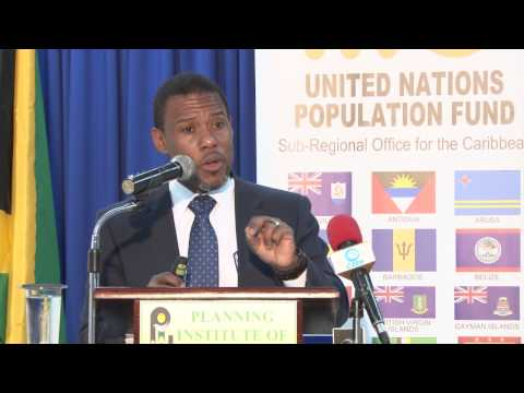 UNFPA  World Population Day 2015 - Ronald Jackson's Presents in Jamaica