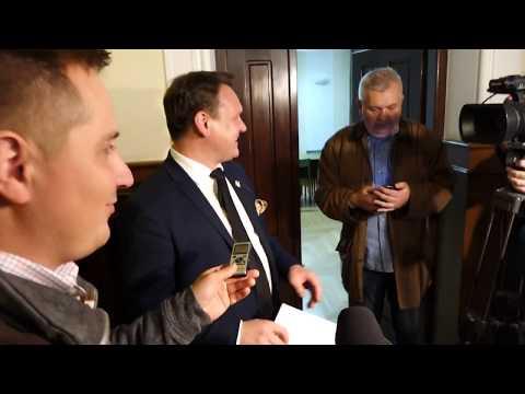 Dominik Tarczyński, Danuta Papaj Po Ogłoszeniu Wyroku W Trybie Wyborczym 28.09.2018