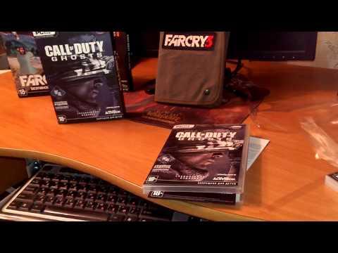 Распаковка специального издания игры Call of Duty: Ghosts