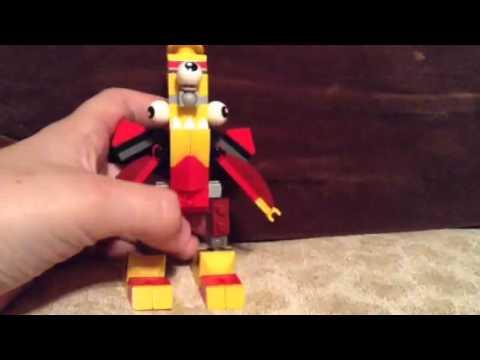 Mixels Flain Lego Mixels:flain And Zaptor