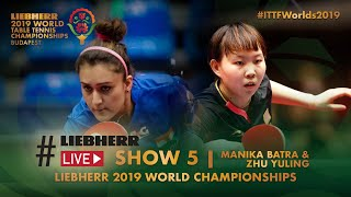 Liebherr Live meets Manika Batra & Zhu Yuling | Show 5 | Budapest