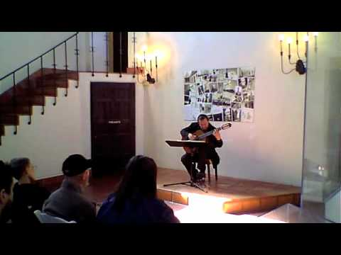 Robert Wetzel - Felix Mendelssohn - Song Without Words Op. 30 No. 3 - April 10, 2011 in Concert