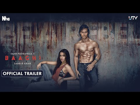 Baaghi Official Trailer | Tiger Shroff & Shraddha Kapoor | Releasing April 29