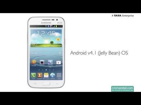Samsung Galaxy Grand Quattro GSM Mobile Phone (Dual SIM) (White)