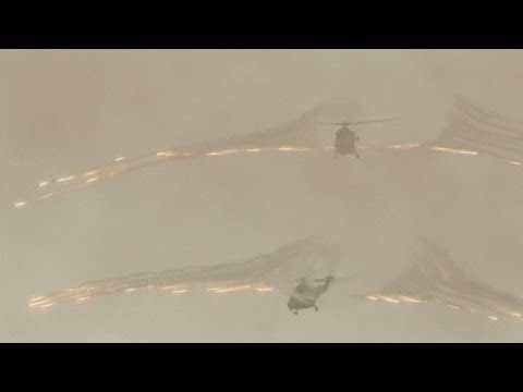South Korea's combat ready helicopters