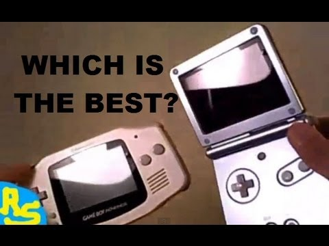 TheReviewSpace Game Boy Advance SP VS Original GBA Review Comparison