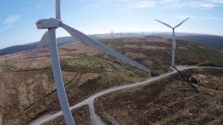 Drone at WindFarm