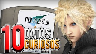 10 Datos Curiosos de Final Fantasy 7