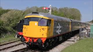 Swanage Diesel gala 12th May 2019
