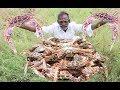 Yummy Pepper BIG CRAB Prepared by my DADDY Arumugam  Village food factory