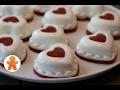 Сметанное Суфле с Клубникой ✧ Сердечки Валентинки