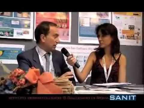 Intervista all'Istituto Dermatologico S Gallicano di Roma al Sanit 2009