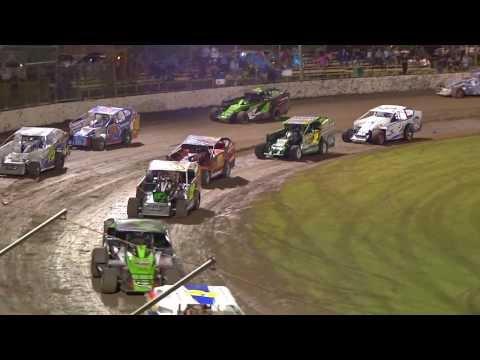 Australian V8 Dirt Modified Final Highlights 2014