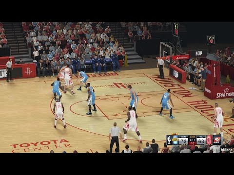 NBA 2K15 Denver Nuggets Vs Houston Rockets 13-12-2014