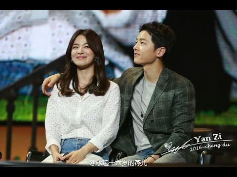 [Full cut]160617 송중기 송혜교 Song Hye Kyo at Song Joong Ki Chengdu Fan Meeting Song Song Couple 宋仲基宋慧乔