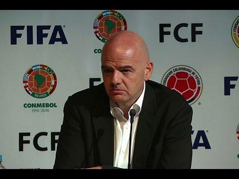 """Infantino: """"La FIFA está para organizar fútbol, no para salvar el mundo"""""""