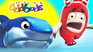 Oddbods | BABY SHARK | Funny Cartoons For Children