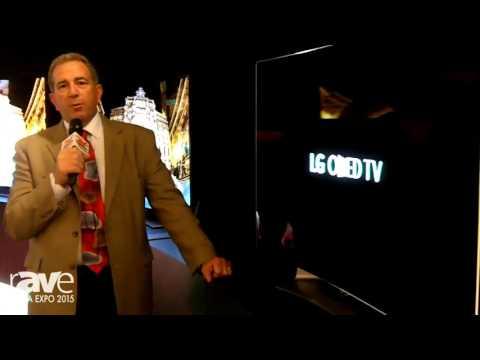 CEDIA 2015: LG Intros 55-Inch, Curved 1080p 55EG9100 OLED TV