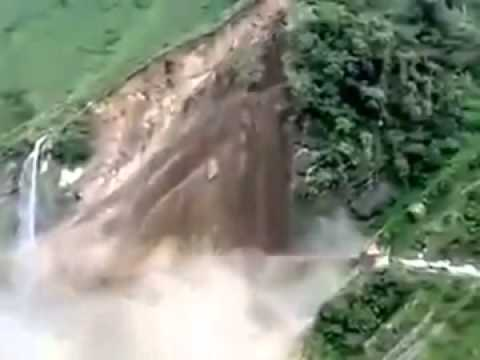 Uttarakhand Flood - Disaster Kanchanganga land scape  visuals
