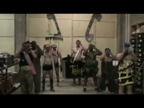 U.S. Soilders dancing in Afghanistan to Telephone by Lady GaGa and Beyonce 2010 REMAKE.
