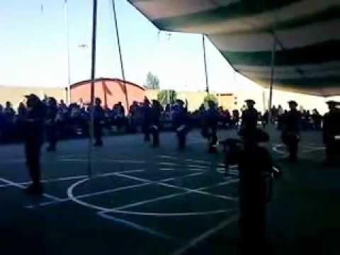 Rutina en la Escuela Andrés Henestrosa