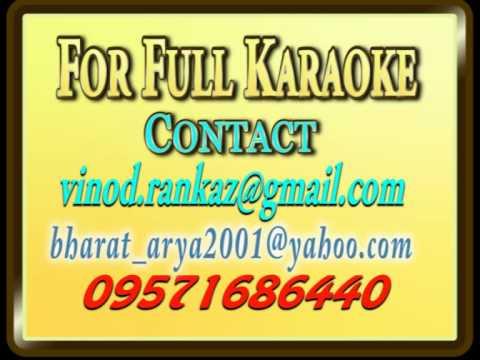 Tu Pyaar Tu Preet Tu Chand Tu Raat - Karaoke - Paraya Dhan