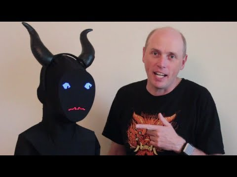 Electronic Demon Costume - How To!