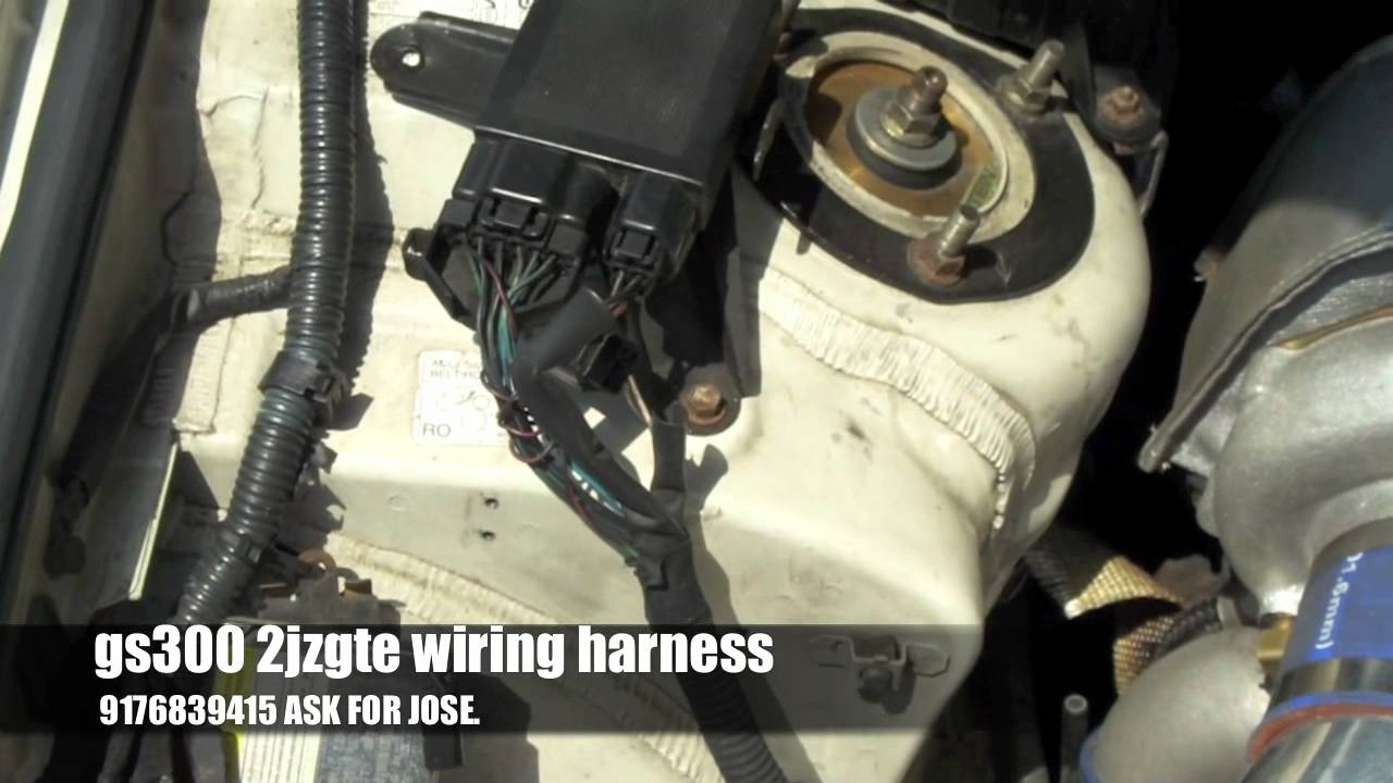 Gs300 2jzgte Wiring Harness Service