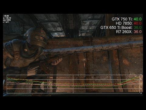 GTX 750 Ti 1080p vs. R7 260X/HD 7850/GTX 650 Ti Boost Benchmarks