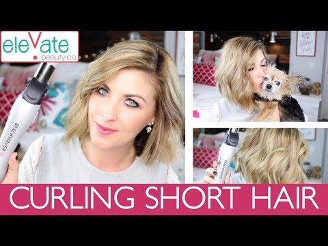 BEACHWAVER S1 REVIEW ✨ Curling Short Hair How to demo!