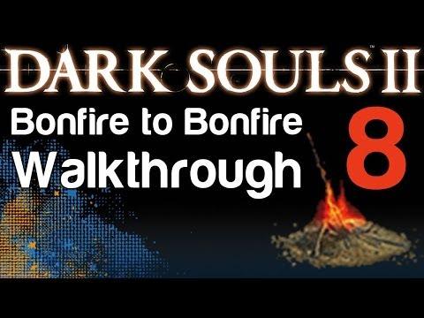 Dark Souls 2 - B2B Walkthrough - Earthen Peak & Burning the Windmill & Mytha the Baneful Queen (08)