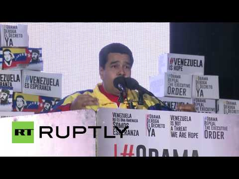 Venezuela: Maduro has support of over 10 million on anti-US petition
